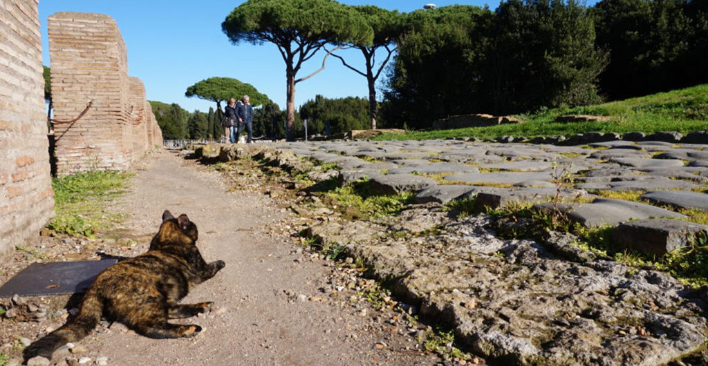 how to get to ostia antica from rome